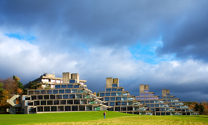 Suffolk Terrace UEA - Architectural Photography in Norwich