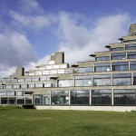 Ziggurats UEA - Architectural Photography