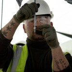 PR Photography - CrossRail Training Building Construction
