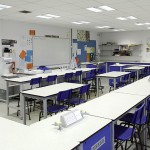 Interior School Photography, Heartsease School Chemistry Lab