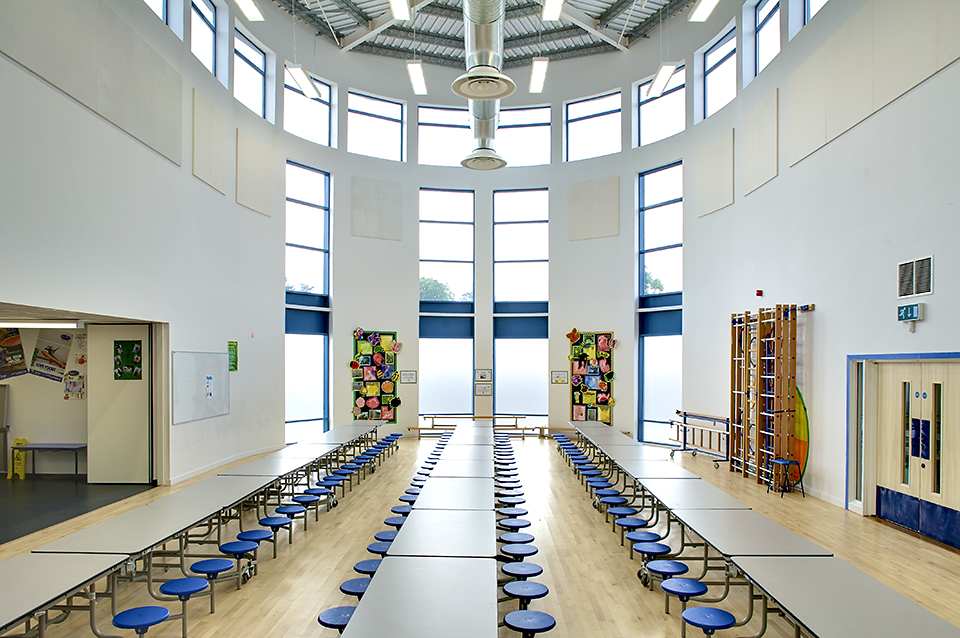 architectural photography interiors. Lakenham School Dining Hall - Architectural Photography Interiors