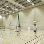 Taverham School Sports Hall Interiors Photography - Norwich