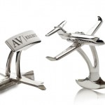 Luxury Goods Photography - Silver Cufflinks