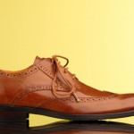 Brown Leather broque Shoe Photography Cambridgeshire East Anglia