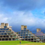 Architectural Photography at Ziggurat Buildings UEA Norwich